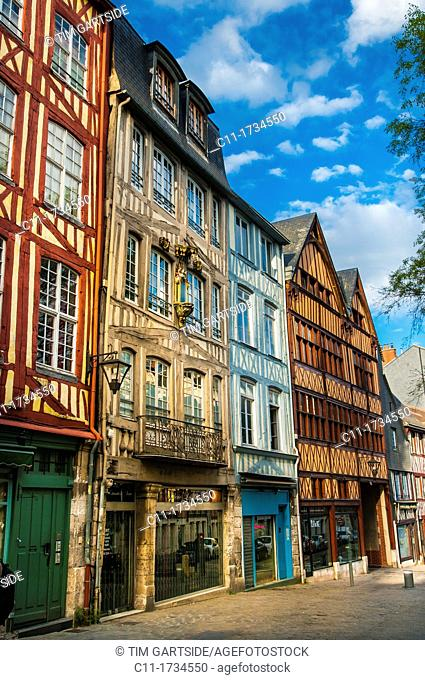 Place Barthelemy, Rouen, France , Europe