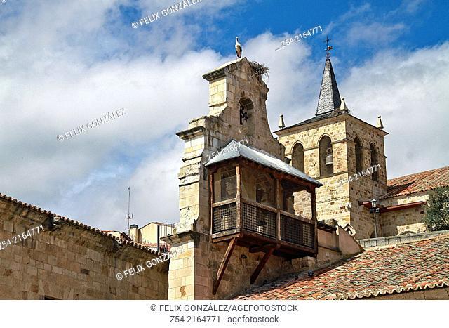 Santa Lucia Church Bell Tower, Zamora, Castile And Leon, Spain