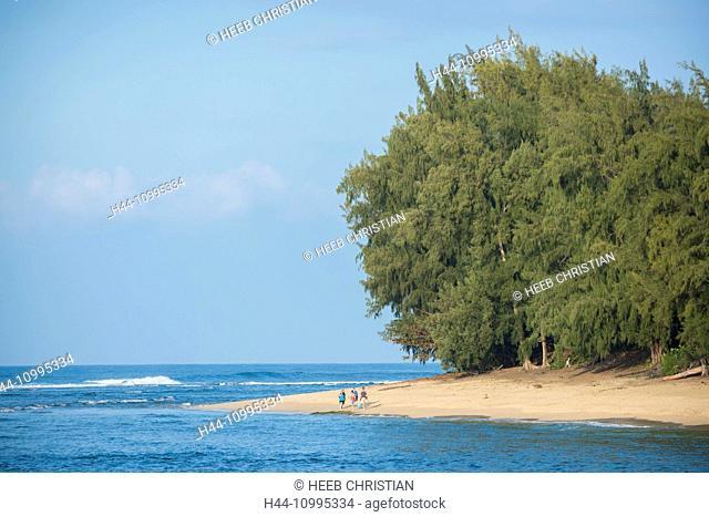 USA, Vereinigte Staaten, Amerika, Hawaii, Kauai, Hanalei, Haena, State Park, ke'e beach