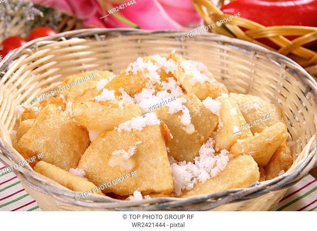 fried rice cake