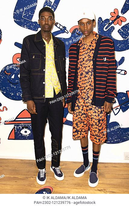 AND OF OUTSIDERS presentation show during London Fashion Week Menswear SS20, LFWM Spring Summer 2020 Collection - London, UK 08/06/2019 | usage worldwide