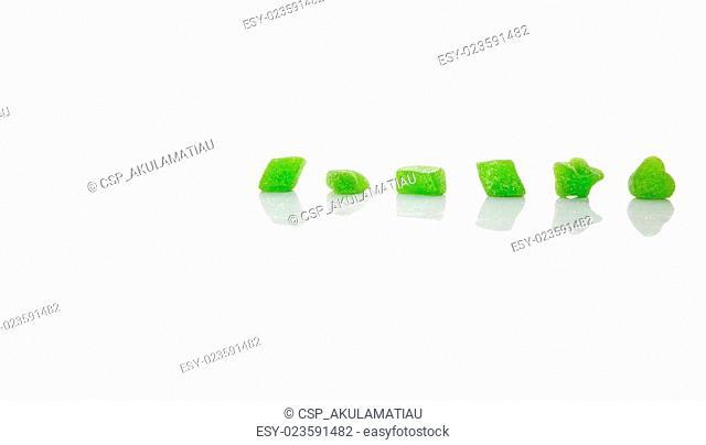 Green Sugar Jelly Candy