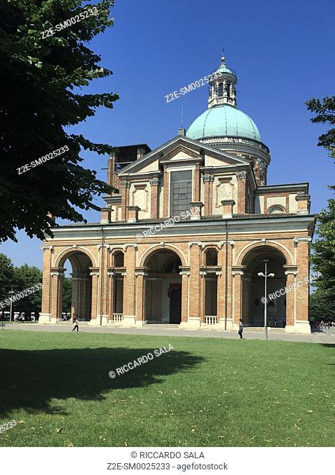 Italy, Lombardy, Caravaggio, Madonna della Fonte Sanctuary