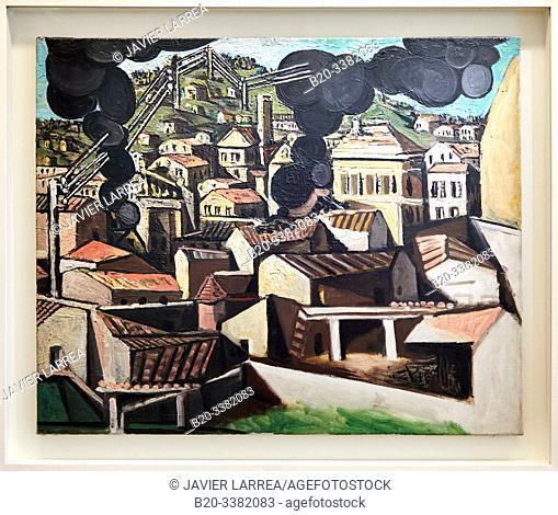 """""""Fumées á Vallauris"""", 1951, Pablo Picasso, Picasso Museum, Paris, France, Europe"""
