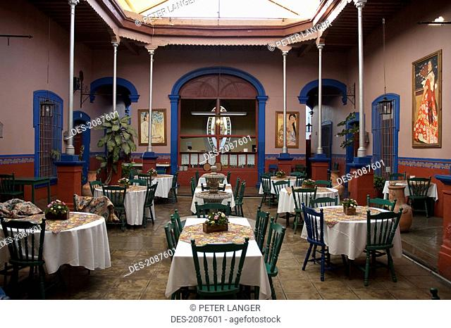 Traditional Mexican Restaurant, Aguascalientes, Mexico