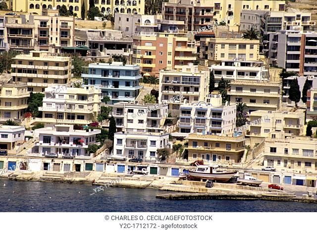 Saint Paul's, Malta  Apartment Buildings  Flats