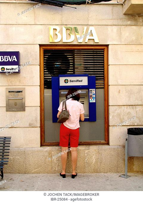 ESP, Spain, Balearic Islands, Mallorca : ATM