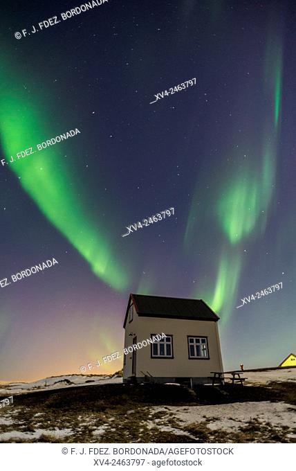 Vogar by Night, Iceland