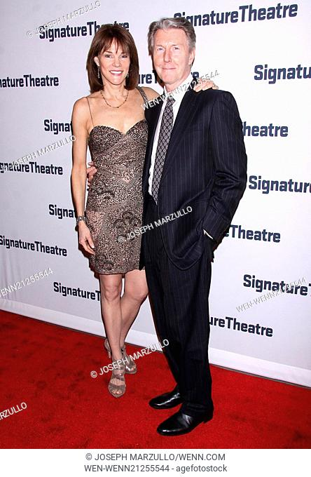 The 2014 Signature Theatre Gala, held at the Signature Center - Arrivals. Featuring: Carolyn McCormick,Byron Jennings Where: New York, New York