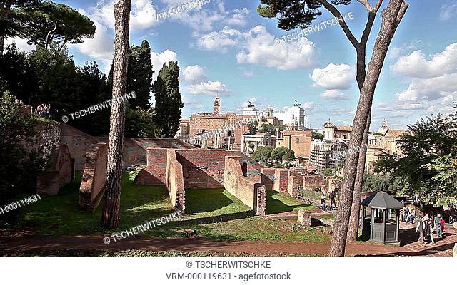 Forum Romanum, Rome, Italy, Europe
