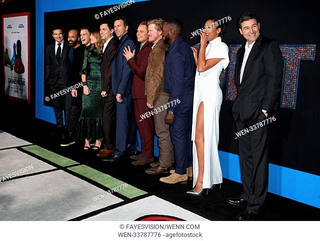 Premiere of New Line Cinema and Warner Bros. Pictures' 'Game Night' Featuring: Jason Bateman, Jesse Plemons, Kylie Bunbury, Lamorne Morris, Sharon Horgan