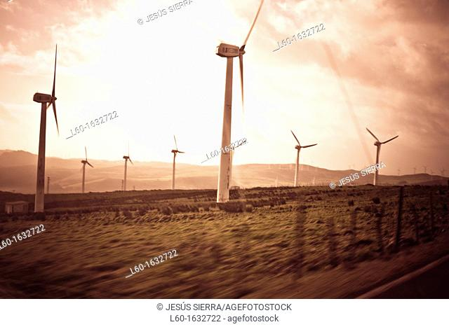 Wind turbines, Costa da Morte, Galicia, Spain