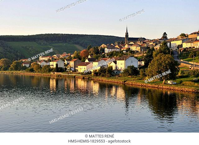 France, Moselle, Moselle Valley, Contz les Bains