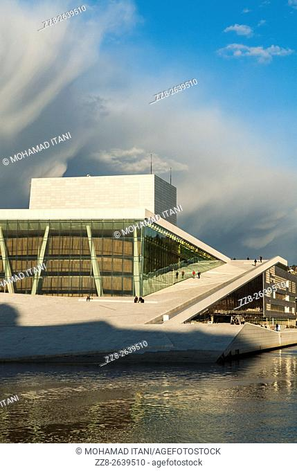 The Opera House Oslo Norway