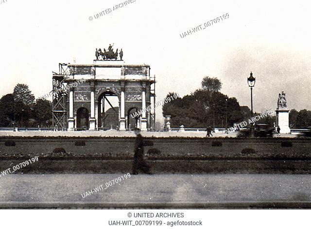 Paris, Partie am Arc de Triomphe du Carousel