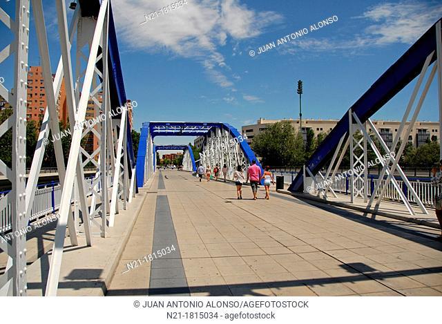Puente del Pilar  Zaragoza, Aragón, Spain, Europe