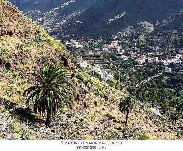 El Hornillo, Valle Gran Rey, La Gomera, Canary Islands, Spain