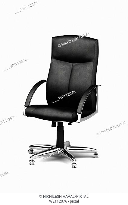 Leather office executive chair 3D