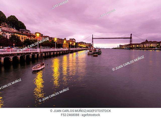 Vizcaya Bridge, UNESCO World Heritage, Portugalete, Bizkaia, Basque Country, Spain, Europe