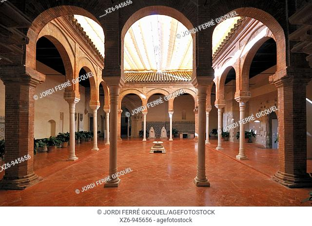 Cloister of La Cartuja Monastery, Sevilla, Andalucía, Spain, Europe october-2009
