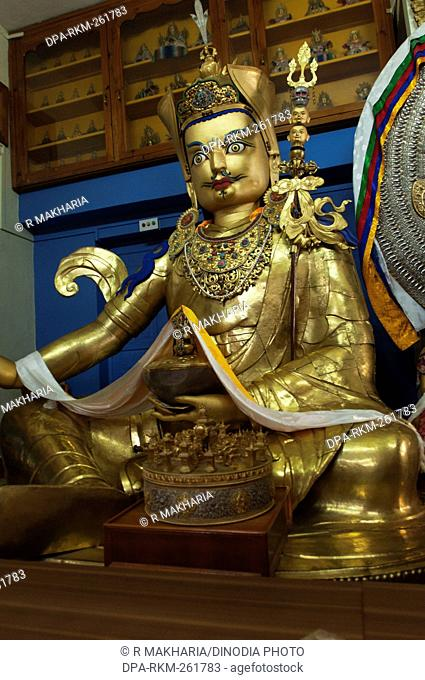 sculpture namgyal monastery, dharamsala, himachal pradesh, India, Asia