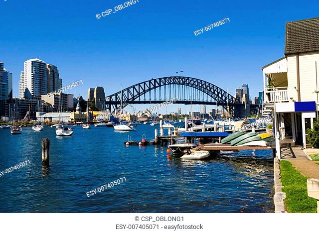 Sydney Harbour Bridge Boats