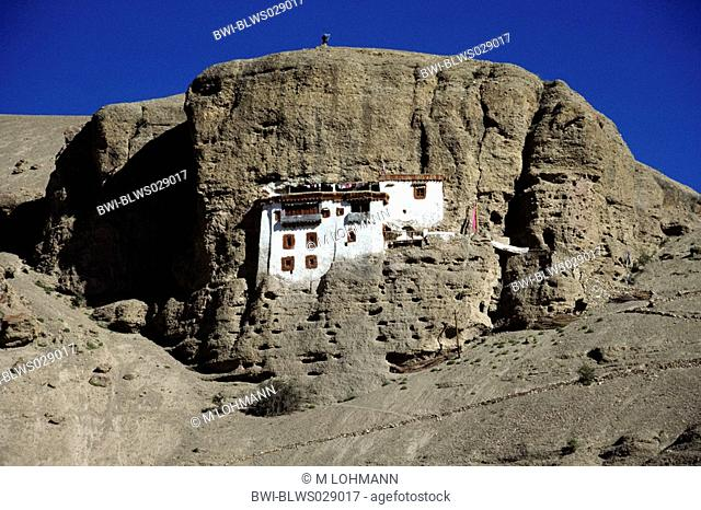 Shergol monastery, India, Ladakh