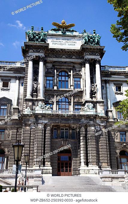 New Hofburg, view from Burggarten, Vienna, Austria