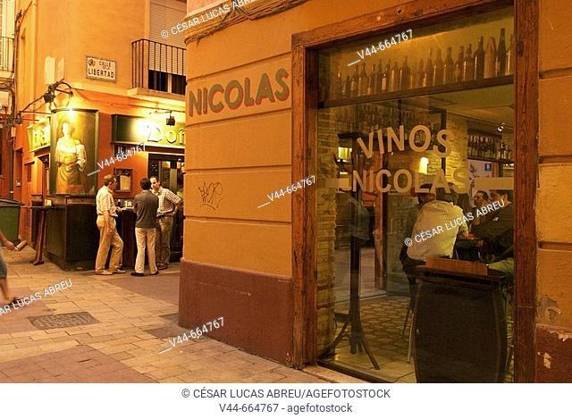 Tabern of Dona Casta, El Tubo quarter. Zaragoza, Aragon. Spain