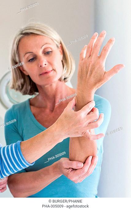 Wrist examination