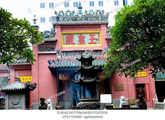 Beautiful Chinese temples in Saigon, Vietnam