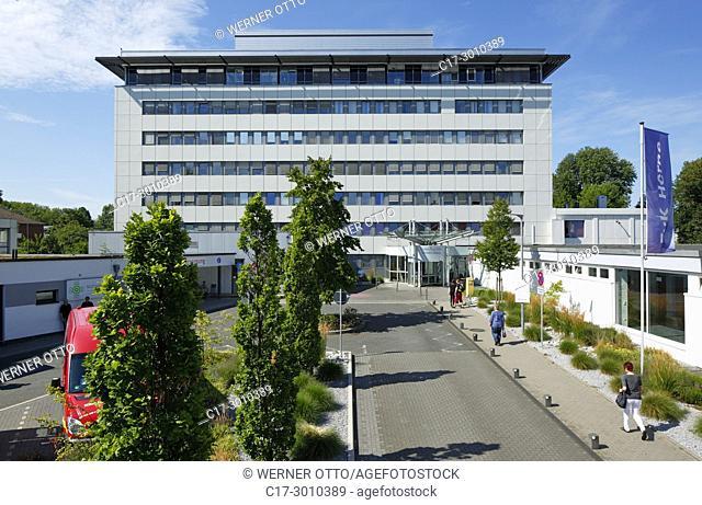 Herne, D-Herne, Ruhr area, Westphalia, North Rhine-Westphalia, NRW, EvK Herne, Evangelic Clinic Herne-Mitte, academic teaching hospital of the university...