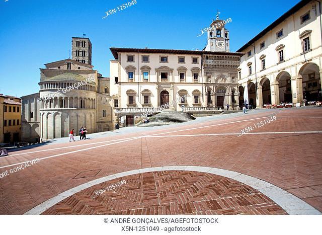 Main Square, Arezzo, Italy