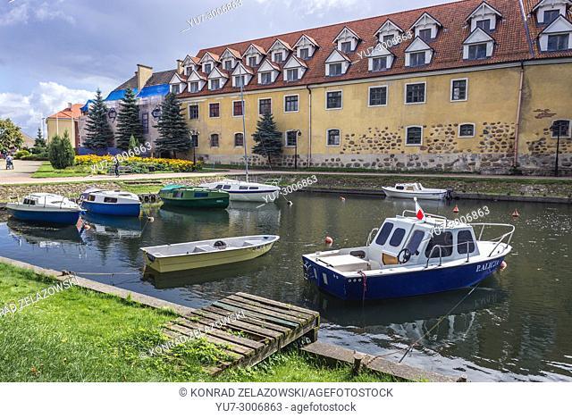 Castle in Wegorzewo town, Warmian-Masurian Voivodeship of Poland