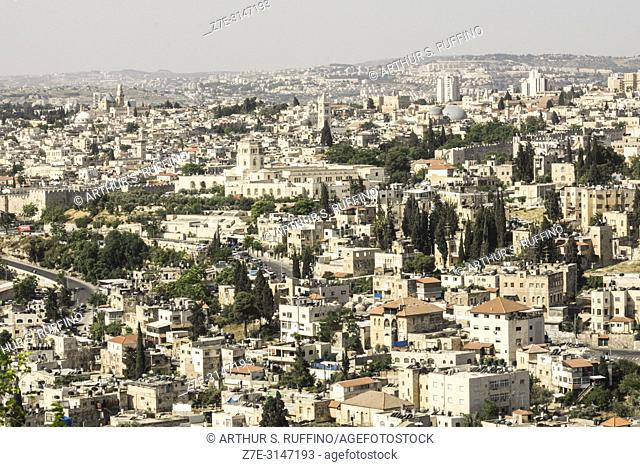 Jerusalem, panorama, Israel, Middle East