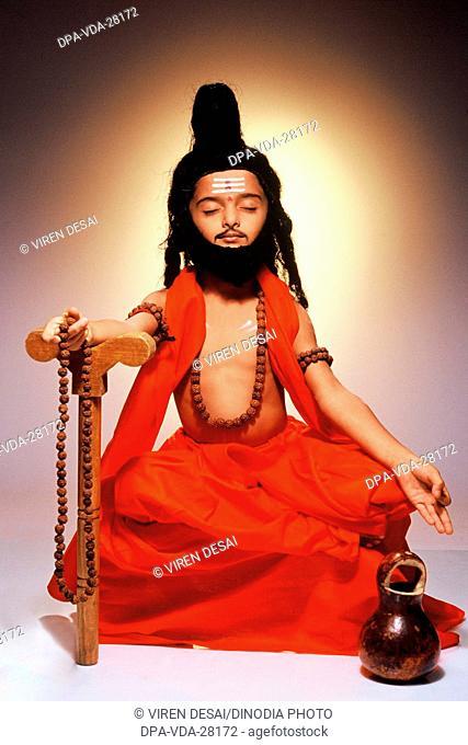 little sadhu boy