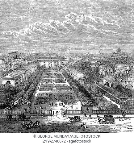 The Jardin des Plantes (French: garden of plants) is the main botanical garden in France. It is one of seven departments of the Muséum national d'histoire...