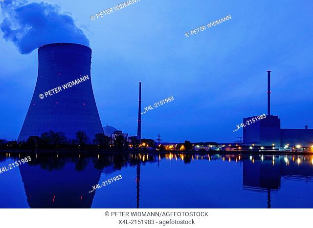 Nuclear power plant Ohu near Landshut, Bavaria, Germany