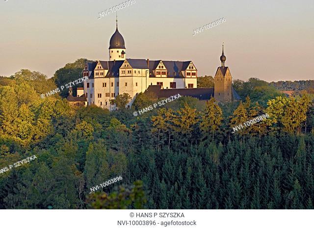 Rochsburg Castle near Lunzenau, Saxony, Germany