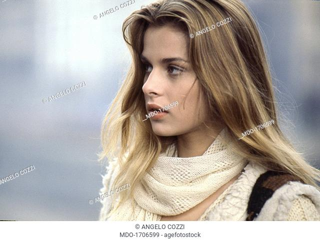 Close Up Of Nastassja Kinski The German Actress Nastassja Kinski On The Set Of The