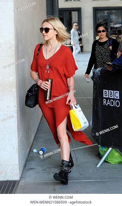 Fearne Cotton at the BBC Radio 1 studios Featuring: Fearne Cotton Where: London, United Kingdom When: 31 Jul 2014 Credit: WENN.com