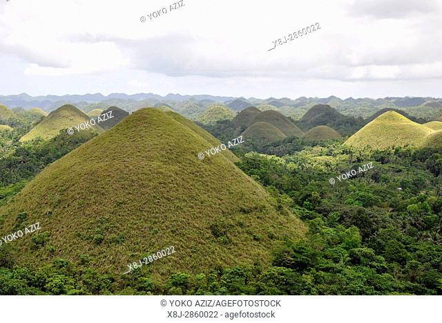 Philippines, Bohol Chocolate hills