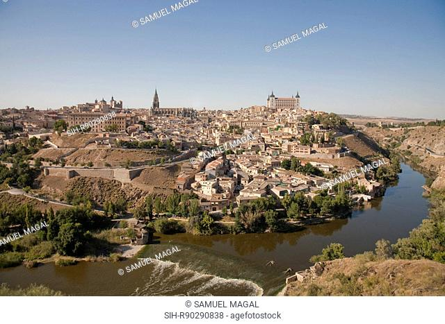 The city of Toledo was declared a World Heritage Site by UNESCO in 1986. The old city is surrounded on three sides by a bend in the Tagus River