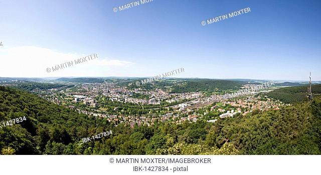 View of Marburg an der Lahn, Hesse, Germany, Europe