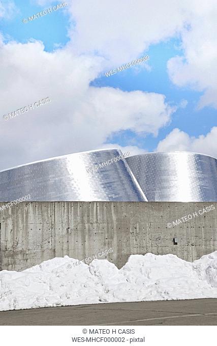 Canada, Montreal, Olympic Stadium, The Esplanade, Planetarium