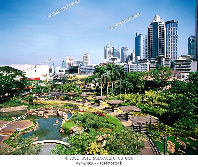 Greenbelt square. Makati District. Manila. Philippines
