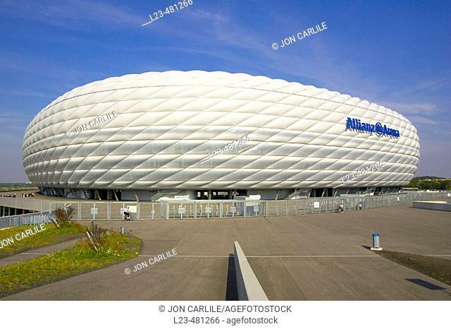Allianz Arena stadium, munich, germany
