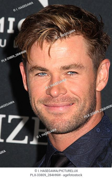 """Chris Hemsworth 04/22/2019 The world premiere of Marvel Studios' """"""""Avengers: Endgame"""""""" held at The Los Angeles Convention Center in Los Angeles, CA"""