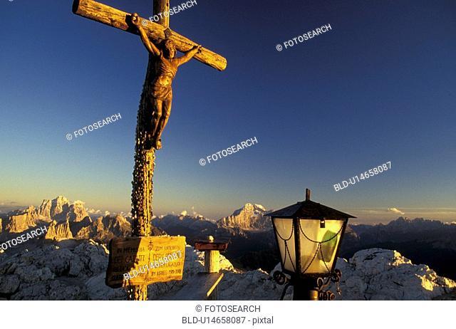 aichner, Christianity, Christ, blue, abenddaemmerung