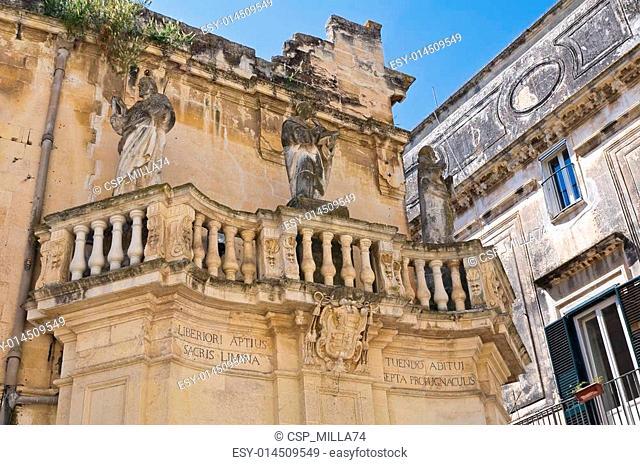 Propylaea. Lecce. Puglia. Italy